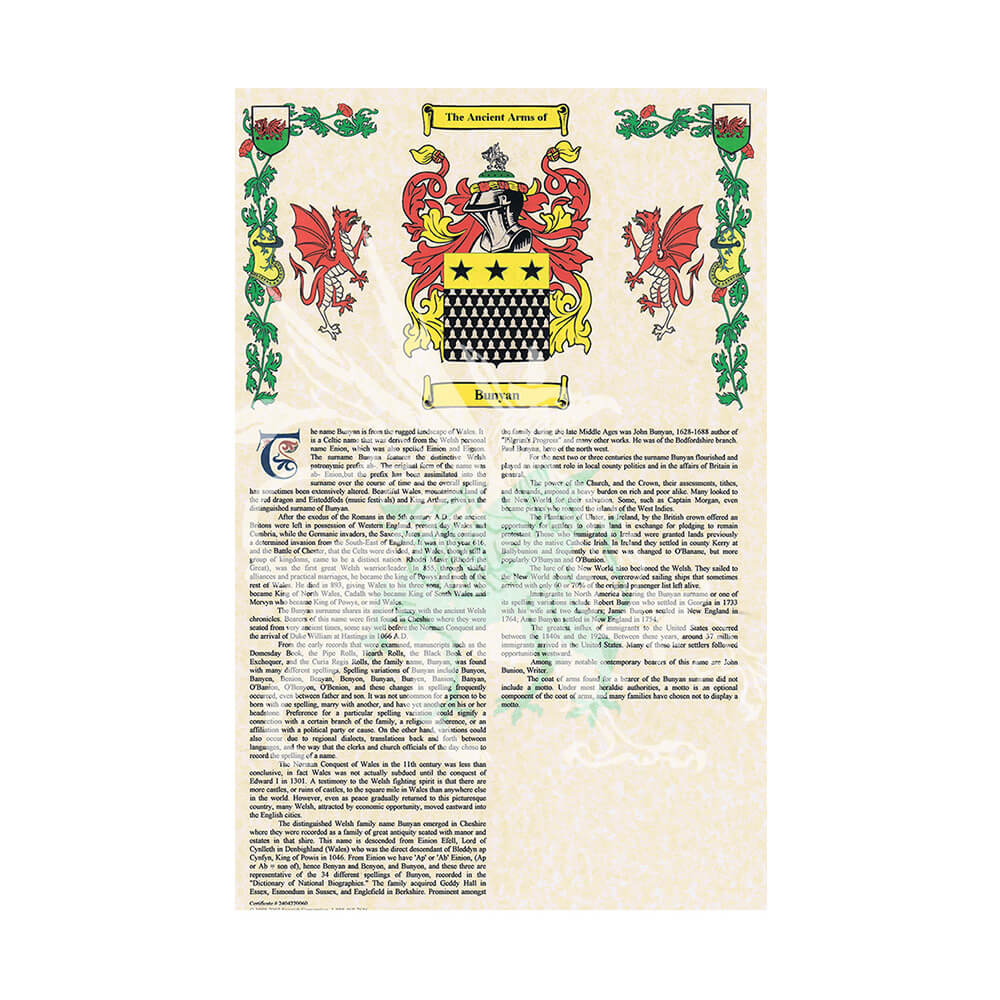 96cbb655a0139 Coat of Arms   Surname History - Name Of Thrones